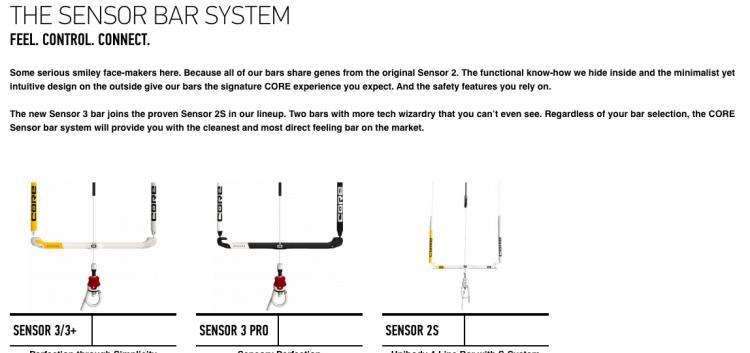 Core Sensor bar