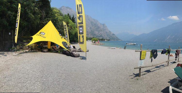 unhooked railey sul Lago di Garda